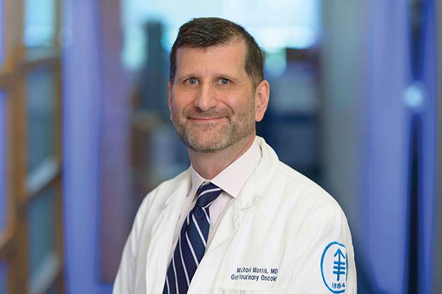 O médico estadunidense Michael Morris