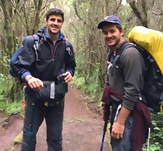 Os advogados Leandro e Vitor, criadores do programa