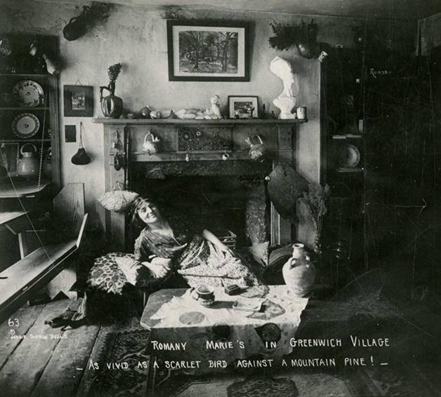 Marchand em seu primeiro bar, inaugurado em 1914