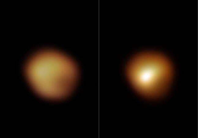 Betelgeuse tem enigma solucionado: estrela não estava morrendo, estava 'parindo'