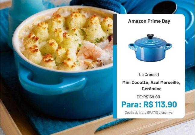 Cozinha Le Creuset: mais de 30% de desconto em artigos no Prime Day