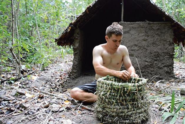 John Plant em ação na natureza selvagem