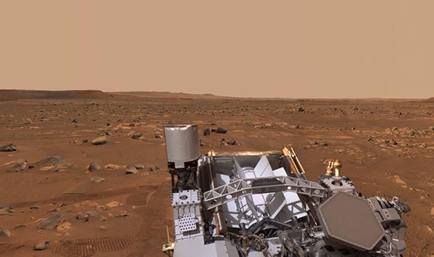 Perseverance em Marte