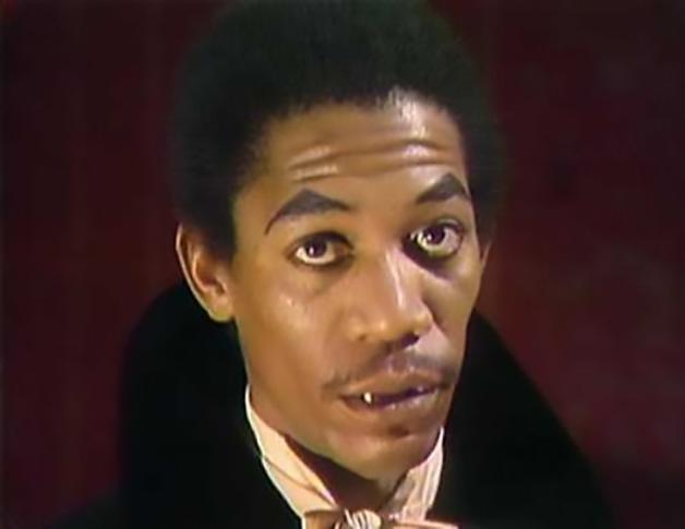 O vampiro Vincent, vivido por Freeman no programa dos anos 70