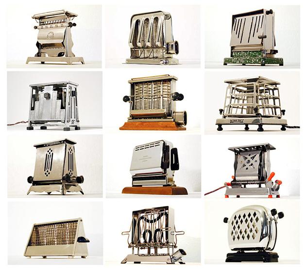 O acervo do Toaster Museum