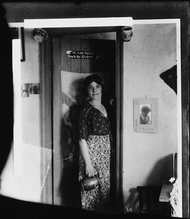 A jovem Marie Marchand
