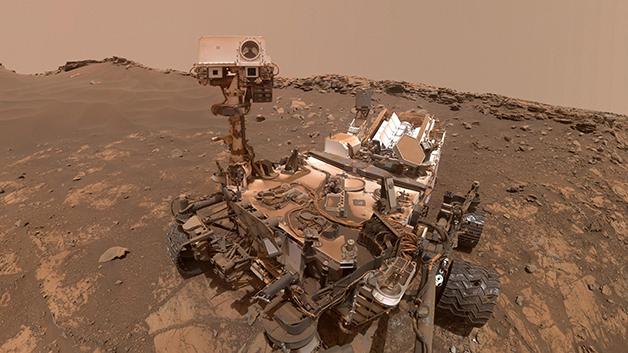 Sonda Curiosity em Marte