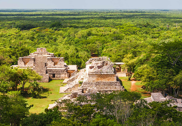 Ruínas maias de Ek Balam, no México