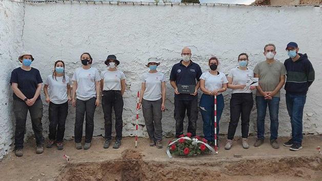 equipe das escavações por ossadas da Guerra Civil espanhola