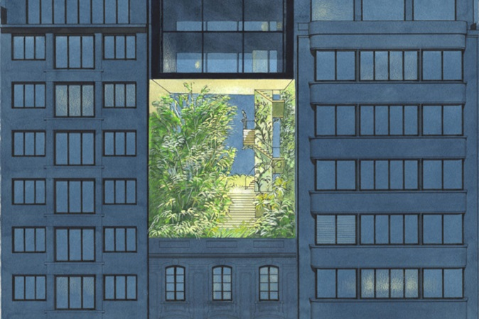 Por dentro do imaginário 'solarpunk' do arquiteto belga Luc Schuiten