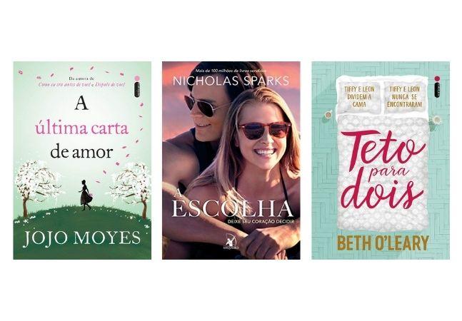 Livros de romance perfeitos para presentear us namorades que amam ler