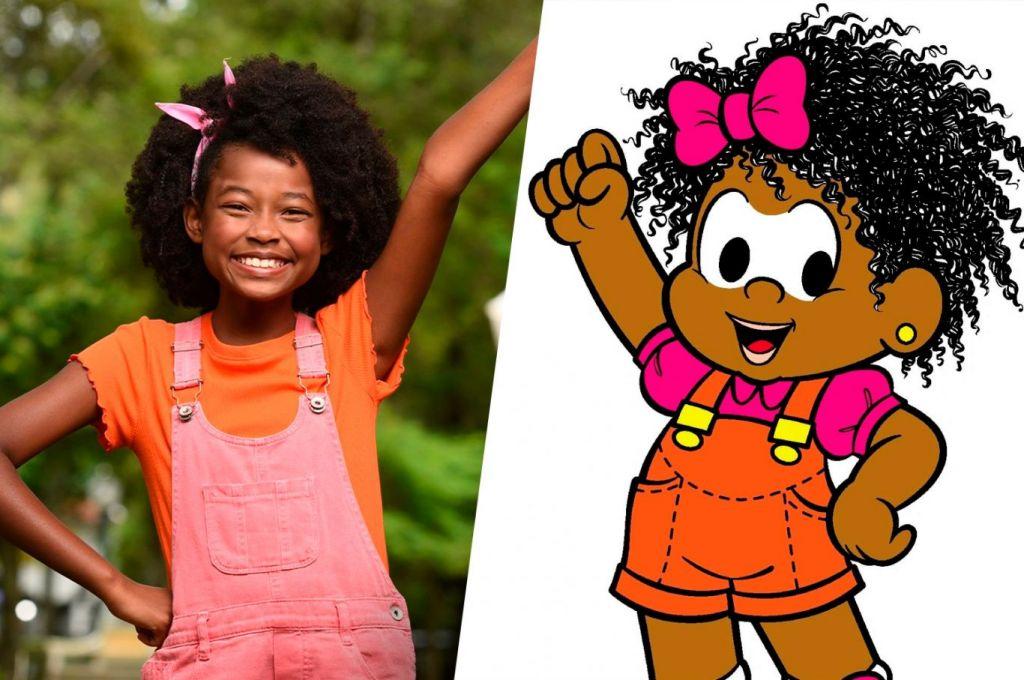 Turma da Mônica: 1ª protagonista negra encanta em foto de live-action