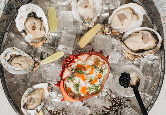 Naia aposta na originalidade e frescor dos frutos do mar direto do litoral para a mesa