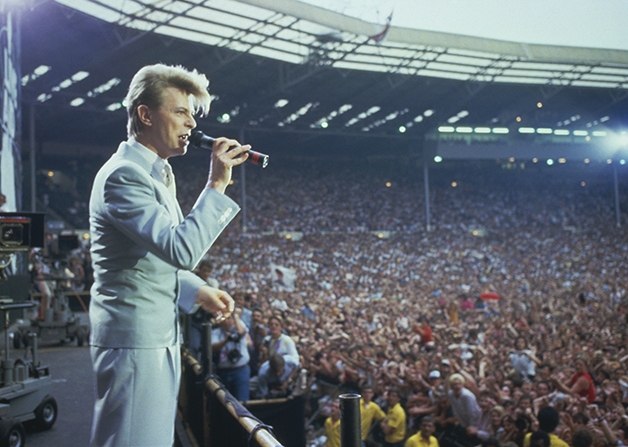 David Bowie no Live Aid