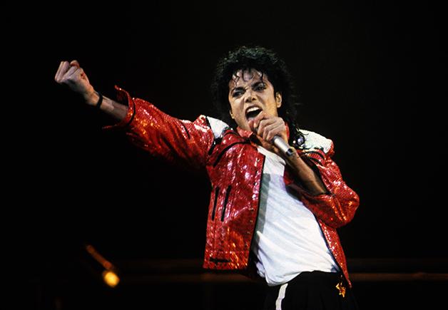 O cantor e compositor Michael Jackson