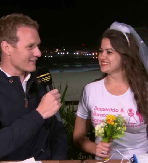 'Maria! Maria!': por onde anda a noiva da despedida de solteira que viralizou na Rio 2016?