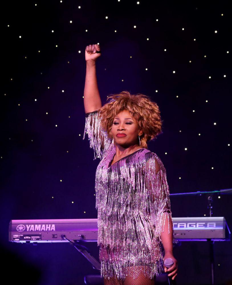Tina Turner por Gabe Ginsberg/Getty Images
