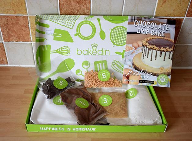 Kit Bakedin para fazer bolos