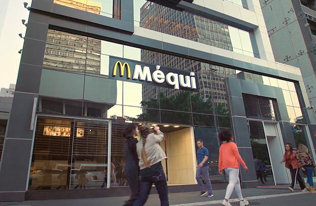 Loja McDonald's em São Paulo