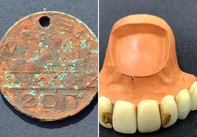 Museu do Ipiranga: obras e escavações revelam artefatos e peças do passado no terreno