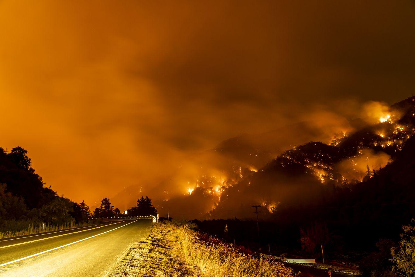 incêndio Califórnia