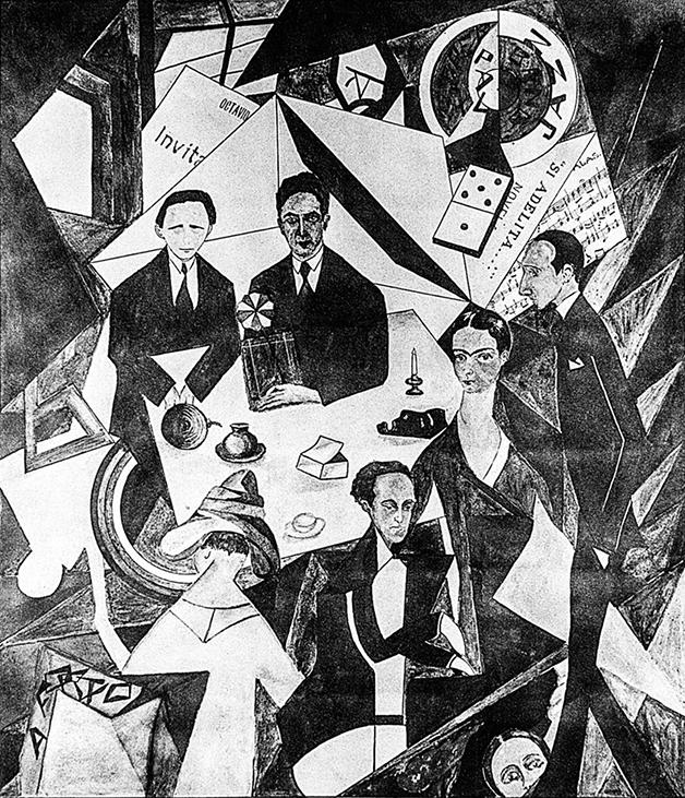 Si Adelita... o Los Cachuchas, pintura de 1927