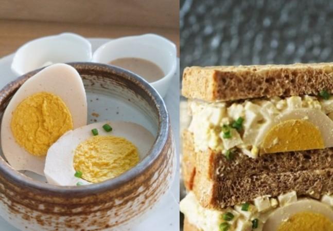 Empresa de Cingapura desenvolve ovo cozido vegano à base de plantas