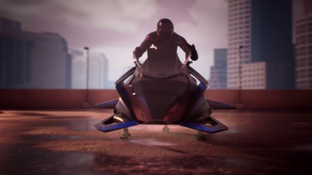 Moto voadora pode atingir até 400 km/h