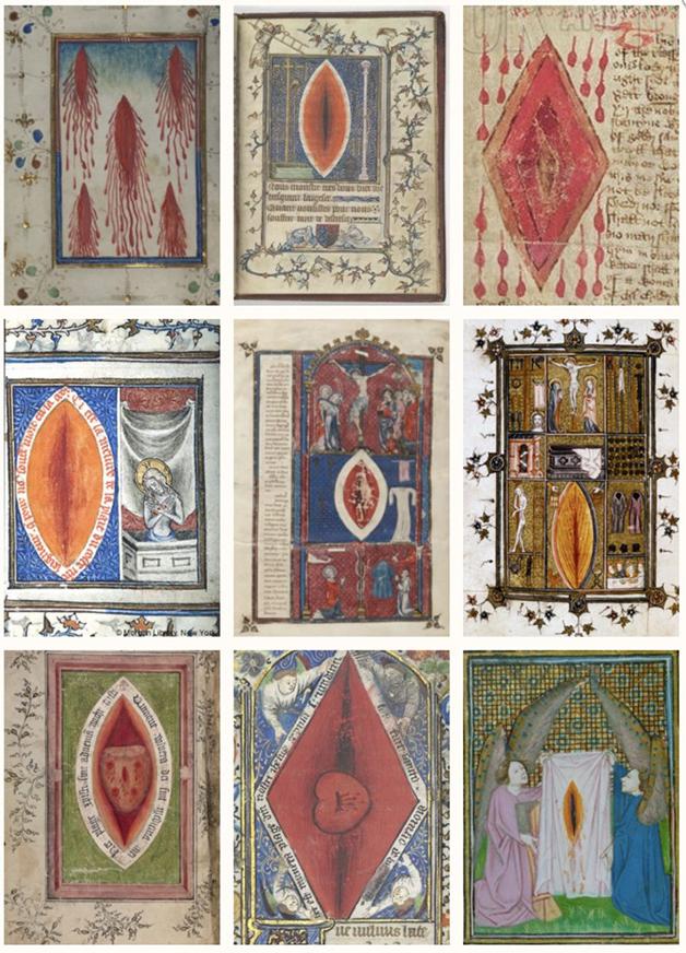 A imagem da quinta chaga de Cristo na literatura medieval