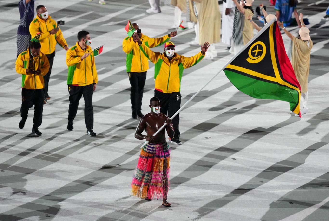besuntado de Vanuatu Olimpíadas