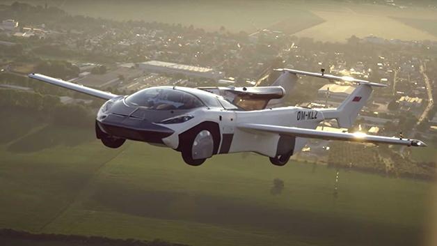 AirCar voando