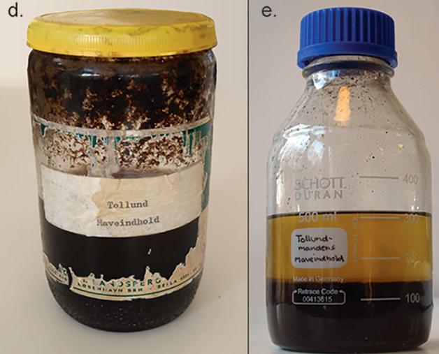 Material retirado do intestino