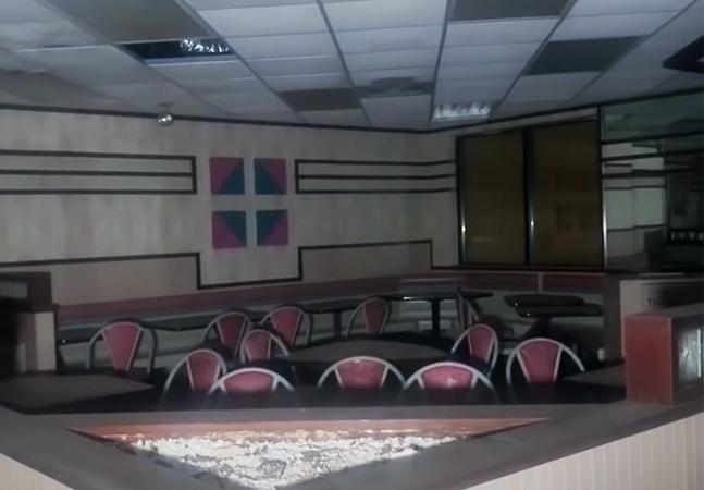 McDonald's abandonado vira 'museu' nostálgico dos anos 1980