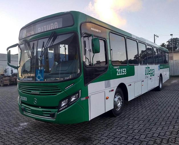 ônibus da ÓTima em Salvador