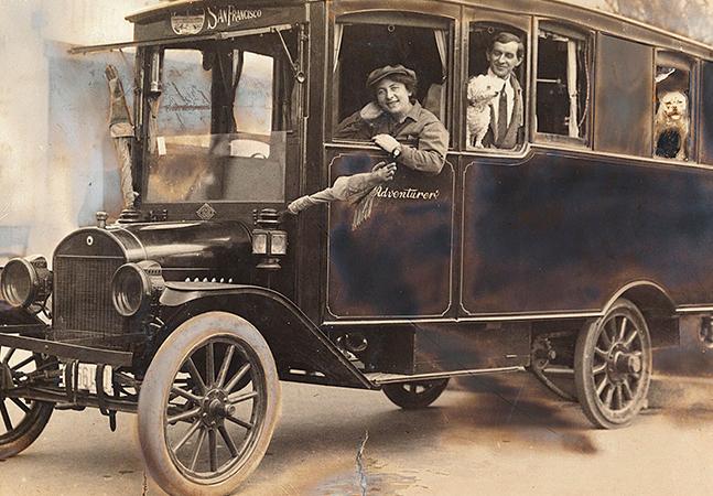 Por dentro do 'Aventureiro' o Model 'T' da Ford transformado em motorhome nos anos 1910