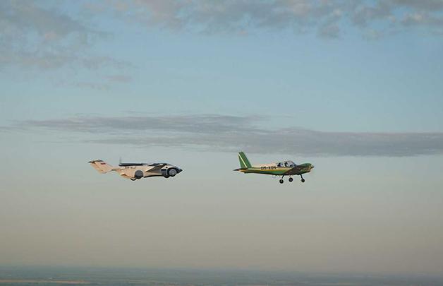 AirCar e avião