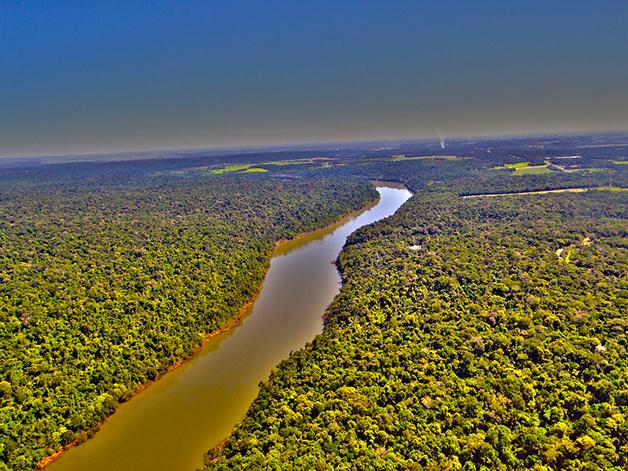 O Rio Paraná