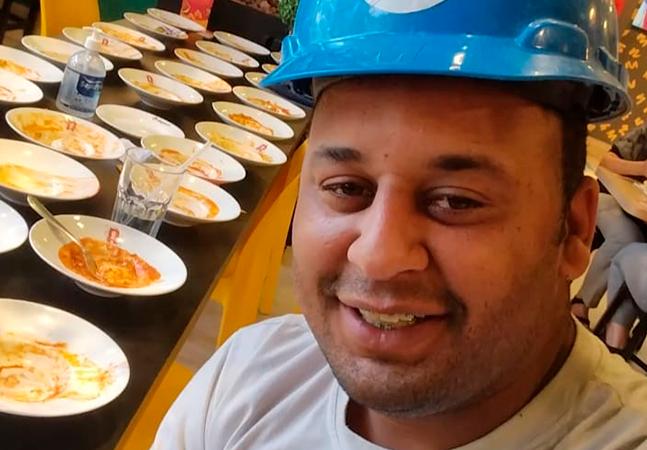 Homem 'expulso' de restaurante por comer 15 pratos vai quitar dívidas com patrocínios