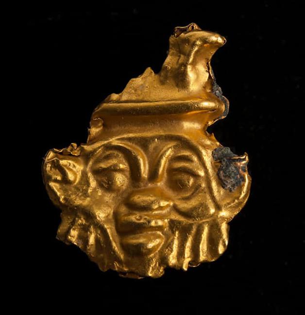 Peças de ouro foram encontradas junto da carcaça do navio