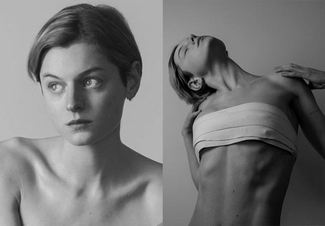 Diana em 'The Crown', Emma Corrin aparece com faixa nos seios e se revela Queer