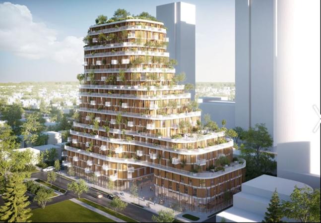 Canadá terá edifício-floresta construído com bambu e madeira