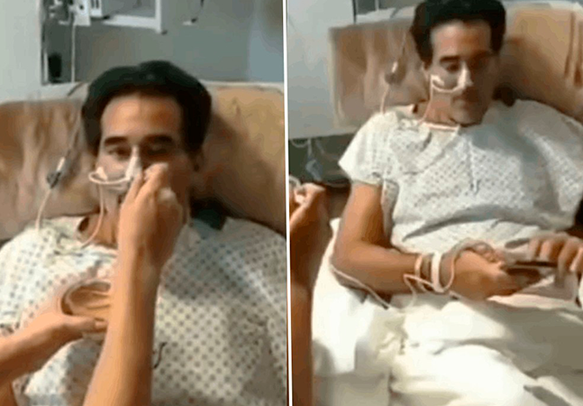 Luciano Szafir vai fazer cirurgia para reconstruir intestino após covid-19