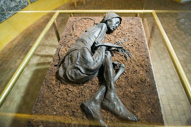 O Homem de Tollund é um dos mais perfeitos exemplos de múmias de pântano