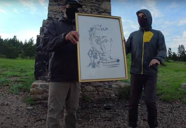 """O rascunho """"Fumeur V"""", de Picasso, destruído pelo grupo"""