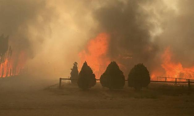 Incêndio em Lytton, no Canadá