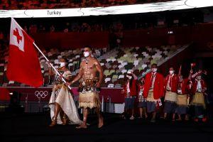 besuntado de Tonga Olimpíadas