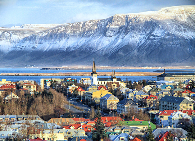 Reykjavik, capital da Islândia