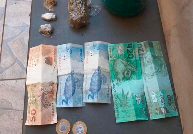 Idoso aceita nota falsa de R$ 420 e devolve R$ 320 de troco a golpista