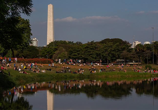 Segurança tenta barrar fotógrafo e argumenta que Parque Ibirapuera agora é privado