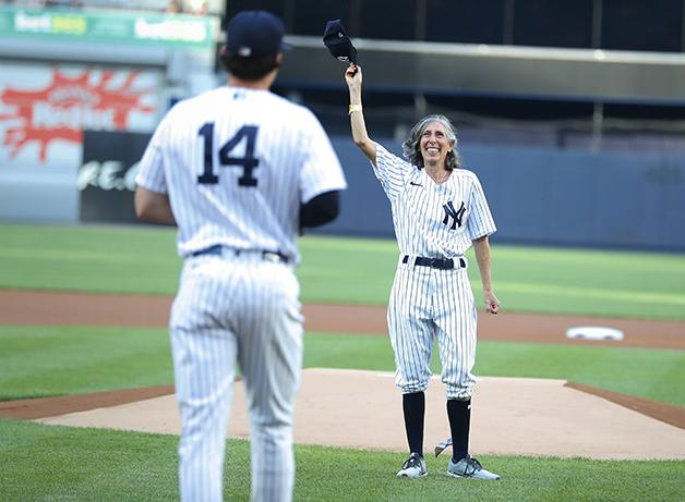 Goldman é torcedora dos Yankees há seis décadas